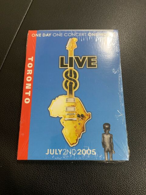 Live 8 Toronto DVD NEW SEALED