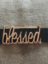 Blessed Slide Charm (Rose Gold) fits Keep Collective