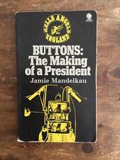 BUTTONS RARE HELLS ANGEL PRESIDENT BOOK 1971 SPHERE FIRST EDITION 1%er BIKER