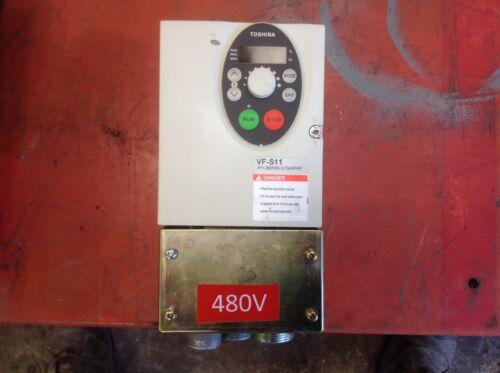 1 HP 480 VOLT R5 TOSHIBA INVERTER VFS11-4007PL-WN