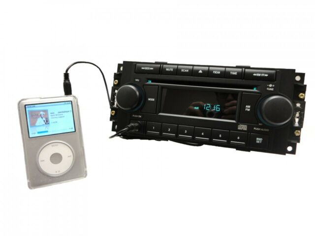 05 06 07 08 CHRYSLER 300 JEEP Cherokee DODGE Durango RAM Radio AUX CD Player REF