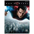Man of Steel -- Sheet Music Selections from the Original Motion Picture Soundtrack : Piano Solos (2013, Paperback)