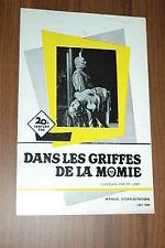 ANDRÉ MORELL ELIZABETH SELLARS THE MUMMY'S SHROUD HAMMER 1967 RARE SYNOPSIS