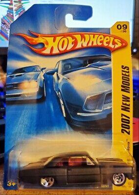 Hot Wheels 66 Chevy Nova Black 2007 New Models