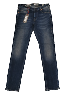 Mustang Hommes Hommes Jeans-Pantalon Vegas 1005691 Slim Medium slim denim bleu