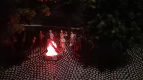 LagerfeuerOsterfeuerMaifeuerLED Flackerlicht realistischer Feuereffekt