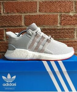 hot sale online 7d58d 51200 Details about Mens Adidas EQT SUPPORT 93/17 size 9 UK CQ2393 grey red