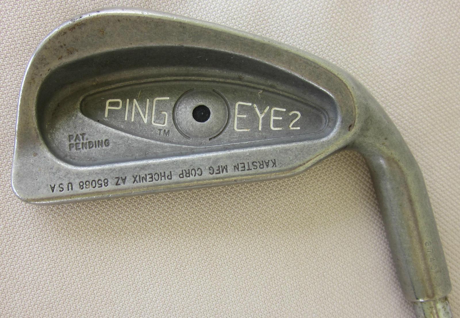 Ping Eye 2 Punto Negro Hierro 2 Original ZZ  Lite Eje De Acero  las mejores marcas venden barato