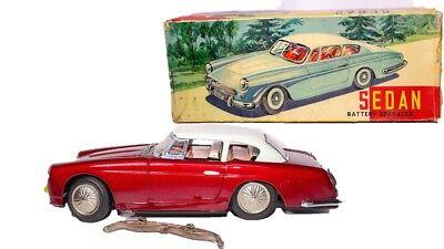 Spielzeug Original Box Blechspielzeug Vintage Selten Red China Me 062 Ferrari Sedan W