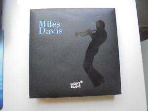 Humoristique Caja De Montblanc Para El Modelo Miles Davis Es Edicion Especial Vacia 20x20 Cm