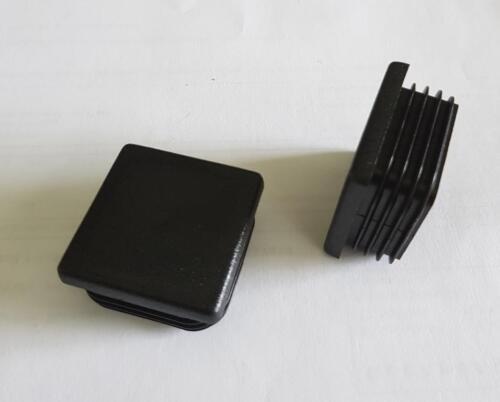 Lamellenstopfen Endkappen Stopfen Kappe Deckel Gleiter 10x10-60x60 Quadrat Rohr