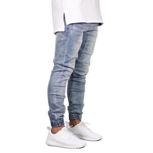 ff2c8c987f Jeans de Moda 2018 Para Hombre Pantalones De Mezclilla Calças ...