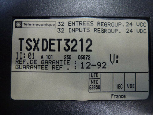Telemecanique tsxdet3212