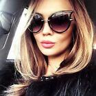 Cat Eye Oversized Fashion Style Women Sunglasses Gradient Lens Oval Frame