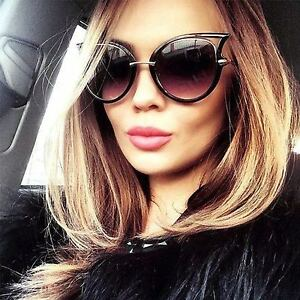 Cat-Eye-Oversized-Fashion-Style-Women-Sunglasses-Gradient-Lens-Oval-Frame