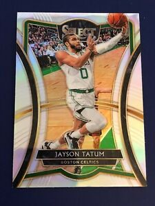 2019-20-Panini-Select-Jayson-Tatum-Premier-Level-Silver-Prizm-Holo