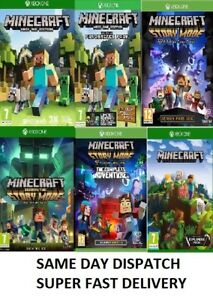 Xbox-one-Minecraft-Xbox-one-Assorted-Mint-Condition-Super-Fast-Delivery