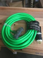 Century Wire/cable Extension 30-amp 50' Generator Cord With 3-outlets