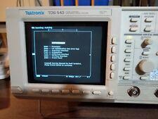 Tektronix Tds540 Digital Oscilloscope