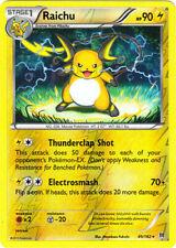 Raichu 27//83 XY Generations REVERSE HOLO Pokemon Card NEAR MINT