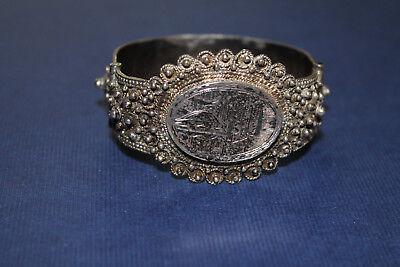 Clever Silber: Orientalischer Armreif / Armspange / Armband; Sehr Aufwendig Gearbeitet