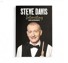 Steve Davis Interesting - Autobiografie, gebunden