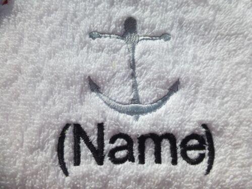 Anchor Design brodé sur un adulte robe avec Nom De Choix Personnalisé