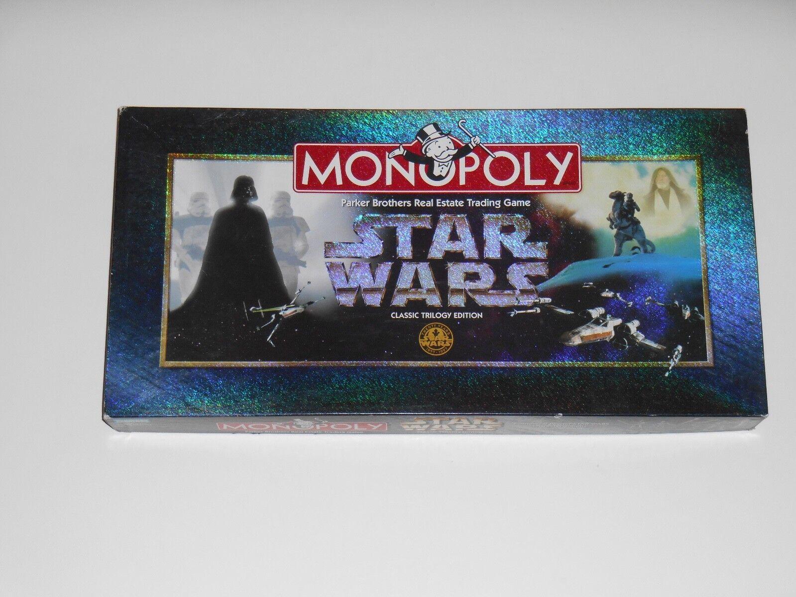 qualità ufficiale Monopoly estrella guerras classeic Trilogy edizione tavola gioco gioco gioco 9 Movie Character cifras  economico online