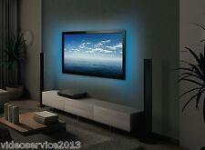 2 strisce LED per illuminazione retro TV USB di 50cm A COLORI CON TELECOMANDO