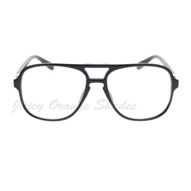 Nerdy Clear Lens Fashion Eyeglasses Oversize Square Glasses