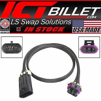 Wire Breakout Harness LS Gen 3 MAF Mass Air IAT Intake Air Sensor LS1 LM7 LQ4