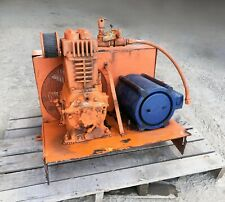 Quincy Reciprocal Air Compressor With Ge Motor