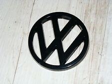 Emblem Kühlergrill Grillemblem schwarz VW Golf 1 GTI Pirelli Cabrio Caddy 14D