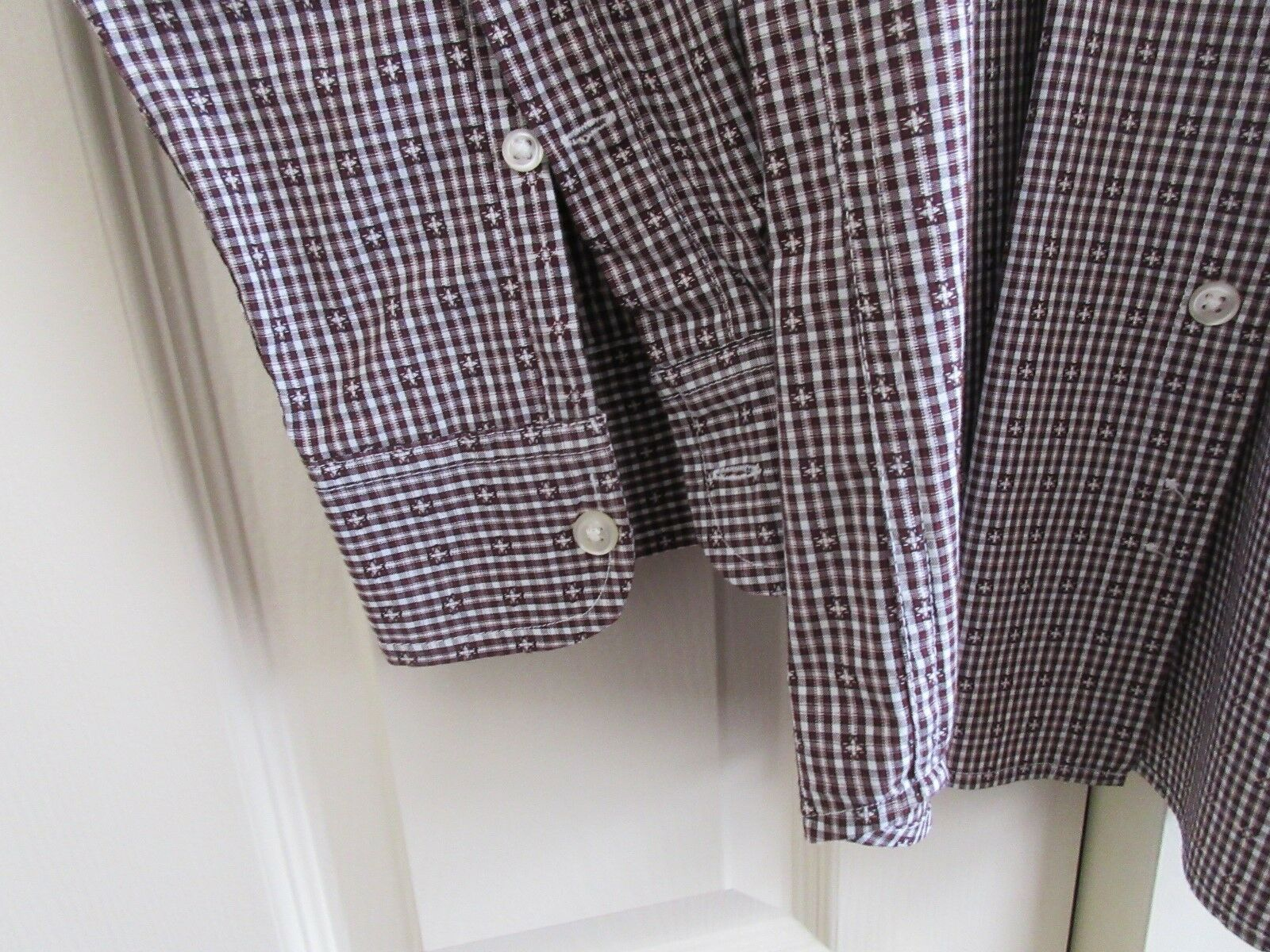 Chaps , Men's Long Sleeve Shirt , XL/TG/EG , 100%Cotton