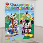 Disney Mickey Mouse Clubhouse 5pc Giant Scene Setter Party Accessories Gift