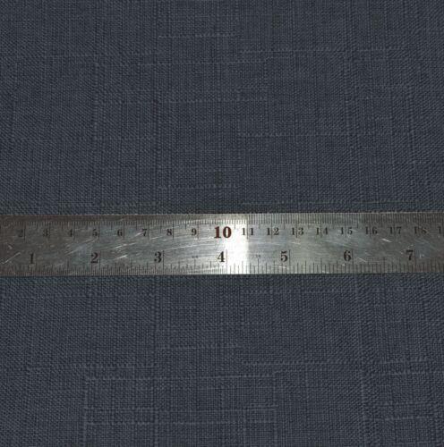 Qh18g Dark Blue Grey Linen Cotton Blend Bolster Yoga Case Neck Roll Custom Size