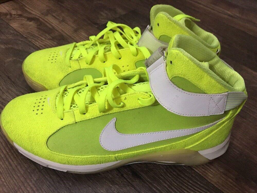 Nike hypermax neuer tennis - ball - volt volt volt - 375946 711 größe 13 deadstock schnalle c91fdc