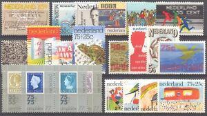 NL - NETHERLANDS 1976 complete year set MNH