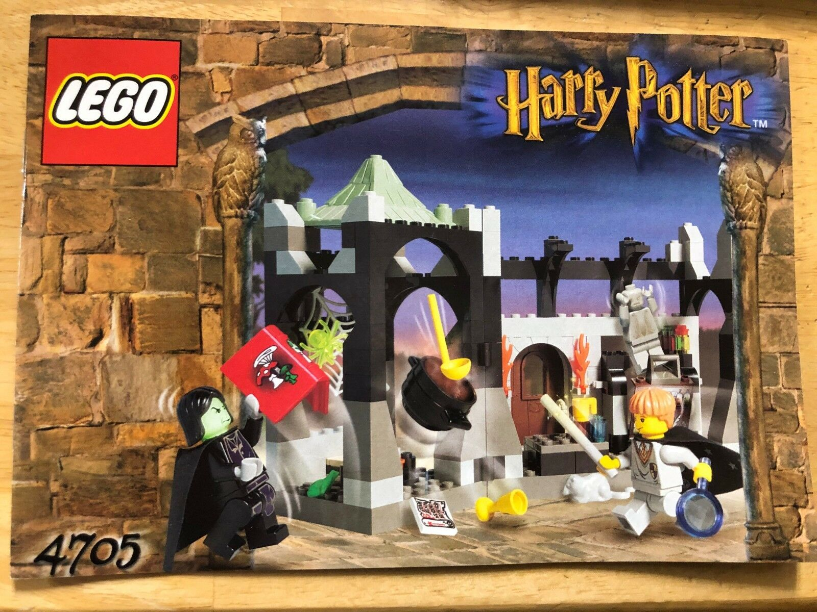 LEGO Snape's Class - Harry Potter COMPLETE - Instructions - - - Minifigures 78fee1