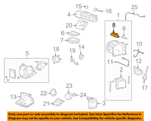 FORD OEM E-350 Super Duty Evaporator-Vacuum Reservoir Canister Tank YC2Z19A566AA