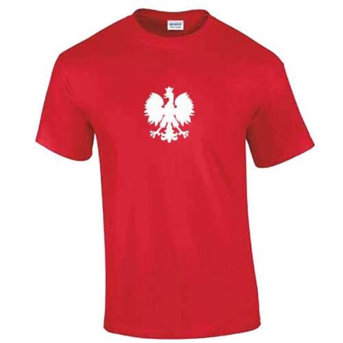 Koszulka Patriotycznego Polskiego Orła Polska Polish Eagle Tshirt Poland Flag