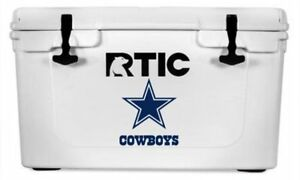 Dallas Cowboys Decal Sticker For Yeti Rtic Cooler Truck