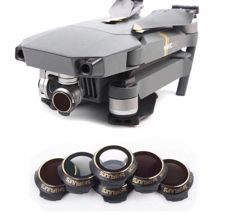 6 Lentille Filtre Filtre Filtre pour DJI Mavic Pro ND4 / ND8 / ND16 / ND32 / CPL / UV 5532a4