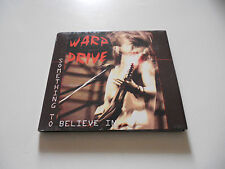"""Warp Drive """"Something to believe in"""" rare AOR cd  Boulevard Records 2011"""