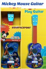 Kids My First Disney MICKEY MOUSE GUITAR Musical Instrument BOYS/Girls GIFT Set