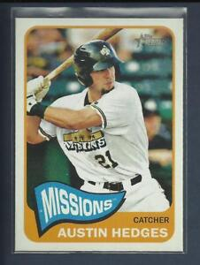 Austin-Hedges-RC-2014-Topps-Heritage-Minors-Rookie-Card-192-Padres-Baseball