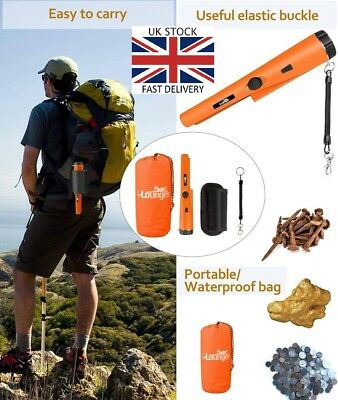 X-Lounger Pinpointer Metal Detector Lightweight Waterproof Easy use 360° Scan