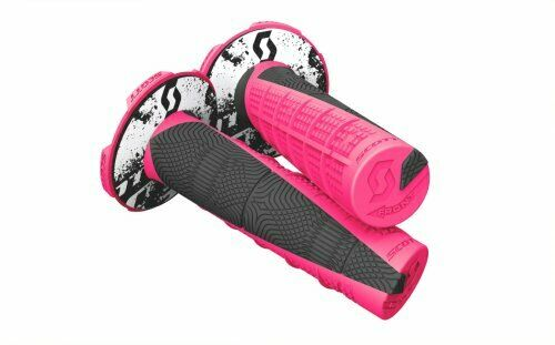 Scott Deuce Handlebar Handle Bar Hand Grip MX Twist 7//8 Neon Pink 219627-1665
