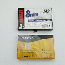 Sony P6120HMPR//2C 2-Pack 120-Minute Hi8 Tape with Hangtab