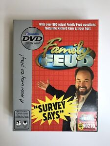 Details about Family Feud DVD Game Survey Says - Over 800 Questions  Imagination DVD TV Games